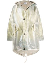 Acne Natural Double-layered Iridescent Coat for men