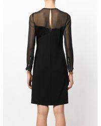 Karl Lagerfeld Black Star Patch Dress