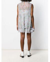 Miu Miu フローラル ドレス Multicolor