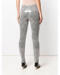 Pantaloni skinny di Just Cavalli in Gray