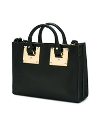 Sophie Hulme - Black Small 'albion' Square Tote - Lyst