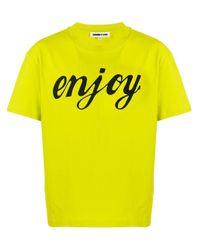 メンズ McQ Alexander McQueen Enjoy Tシャツ Yellow