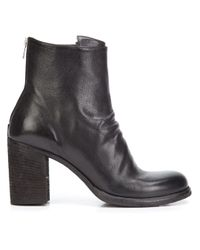 Officine Creative Black 'vernon' Boots