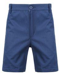 メンズ Dickies Construct スリムフィット バミューダショーツ Blue