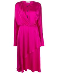 Vestito Mirror di Palmer//Harding in Pink