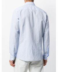 Hackett Blue Dot Print Shirt for men