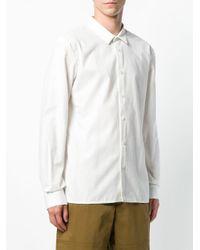 Stephan Schneider - White Plain Shirt for Men - Lyst