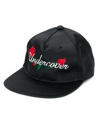 Undercover ロゴ キャップ Black