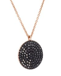 Astley Clarke - Metallic 'icon' Diamond Pendant Necklace - Lyst