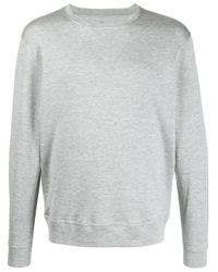 Brunello Cucinelli T-Shirt mit rundem Ausschnitt in Gray für Herren