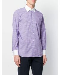 Fashion Clinic Timeless Pink Gingham Check Shirt for men