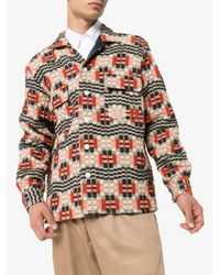 メンズ Bode シャツジャケット Multicolor