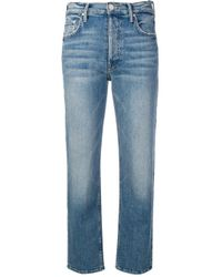 Mother Blue 'The Tomcut' Jeans