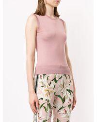 Dolce & Gabbana ファインニット タンクトップ Pink