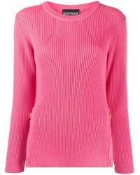 Boutique Moschino リブニット セーター Pink