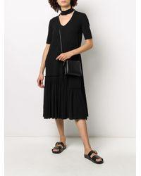 Robe à détail de col Jil Sander en coloris Black