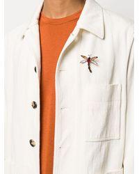 Broche con diseño de libélula Etro de hombre de color Multicolor