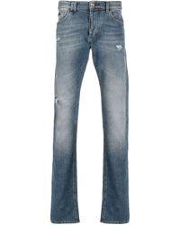 Jeans taglio straight di Philipp Plein in Blue da Uomo