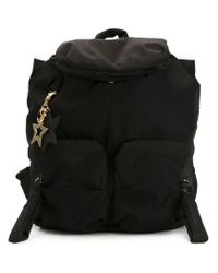 See By Chloé - Black 'joyrider' Backpack - Lyst