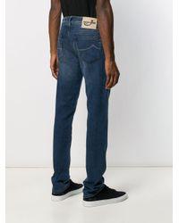 Jean droit classique Jacob Cohen pour homme en coloris Blue