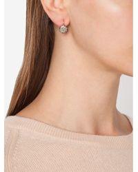 Pomellato Metallic 'sabbia' Diamond Drop Earrings