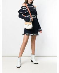 Chloé White Drew Crossbody Bag