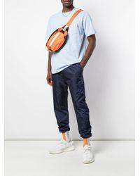 メンズ Supreme フロントポケット Tシャツ Blue