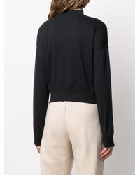 Nike Essential クロップド スウェットシャツ Black