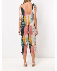 Brigitte Bardot プリント ジャンプスーツ Multicolor