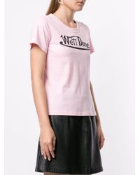 we11done ロゴ Tシャツ Pink