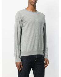 John Smedley - Gray Ponza Knit Sweater for Men - Lyst
