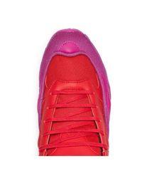 メンズ Adidas By Raf Simons Ozweego レザースニーカー Multicolor