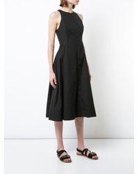 Protagonist - Black Shaped Bodice Dress - Lyst