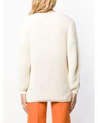 Closed スクープネック セーター Multicolor