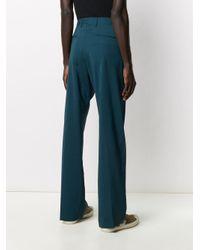 Pantaloni sartoriali dritti di Paul Smith in Blue da Uomo