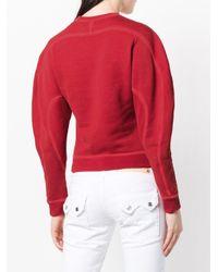 DSquared² Red Born To Ride Sweatshirt
