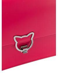 Karl Lagerfeld - Pink Kat Lock Tote - Lyst