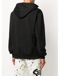 Толстовка С Капюшоном И Вышитым Логотипом Dolce & Gabbana для него, цвет: Black