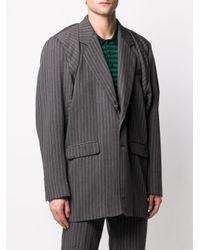 メンズ Y. Project オーバーサイズ ジャケット Gray