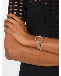 Isabel Marant - Metallic Double-chain Bracelet - Lyst
