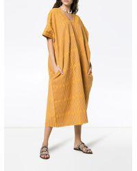 Pippa Holt カフタン ミディドレス Multicolor