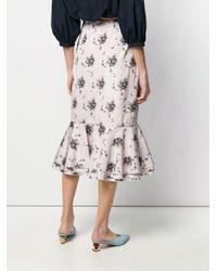 Brock Collection ペプラム スカート Multicolor