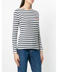 Maison Labiche White Sailor Sweater
