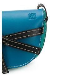 Borsa a spalla di Loewe in Blue