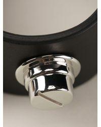 Givenchy Black Studded Bracelet