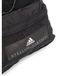 Adidas By Stella McCartney ロゴ バックパック Black