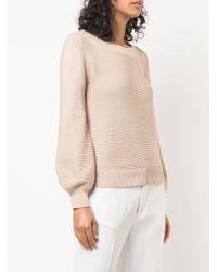 Co. ベルスリーブ セーター Natural