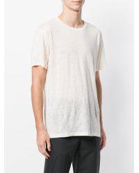 Harmony Paris White Plain T-shirt for men