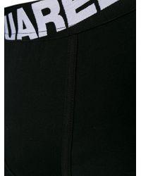 DSquared² Logo Tailleband Boxers in het Black voor heren