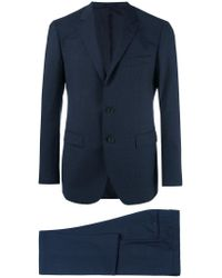 Lanvin Blue Attitude Two-piece Suit for men
